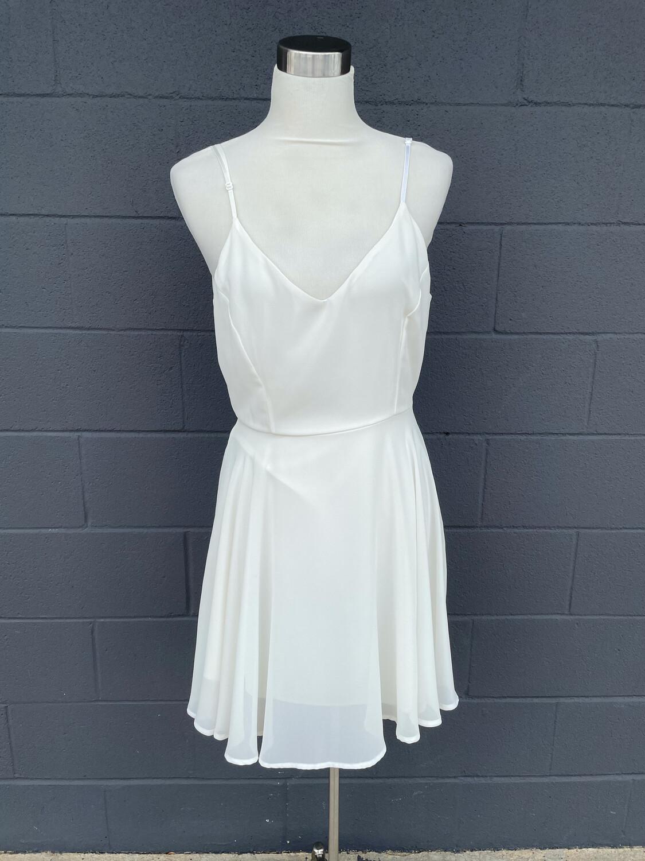 Sage Cream Dress - L
