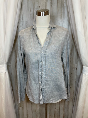 Frank & Eileen Grey Button Up Shirt - XS