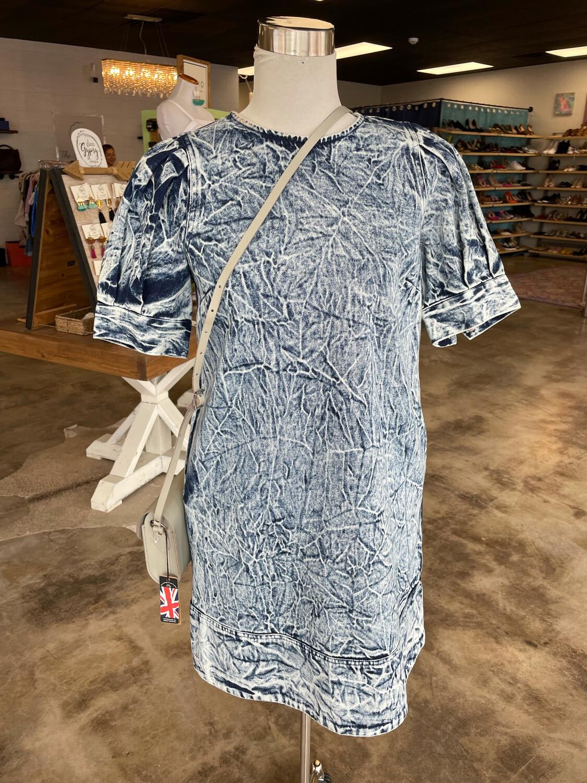 Who What Wear Denim Dress - XS
