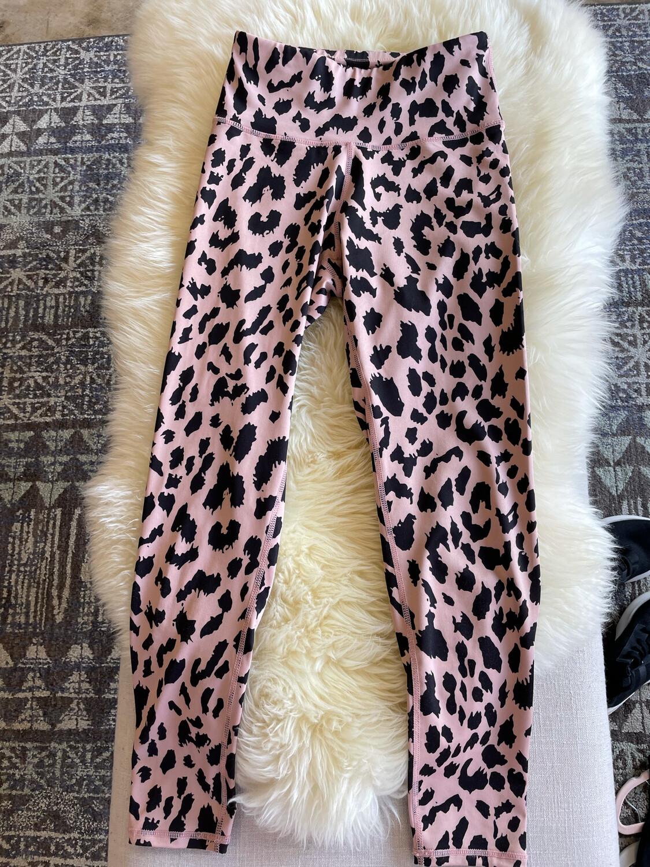 Leopard Print Leggings - S