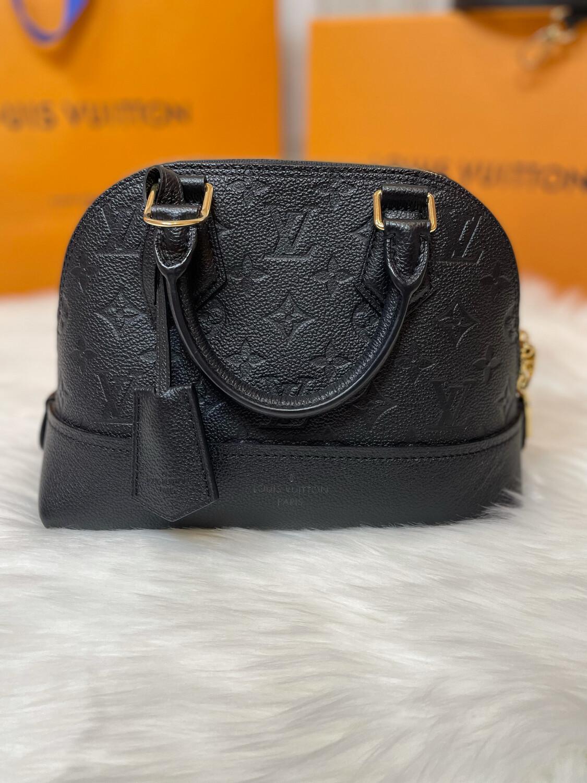 Louis Vuitton Black Neo Alma BB