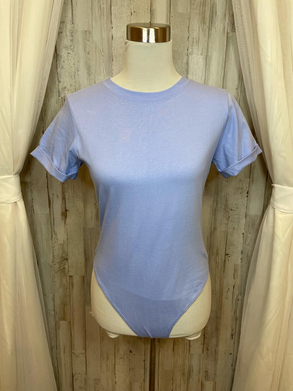 Forever 21 Lavender Bodysuit - M