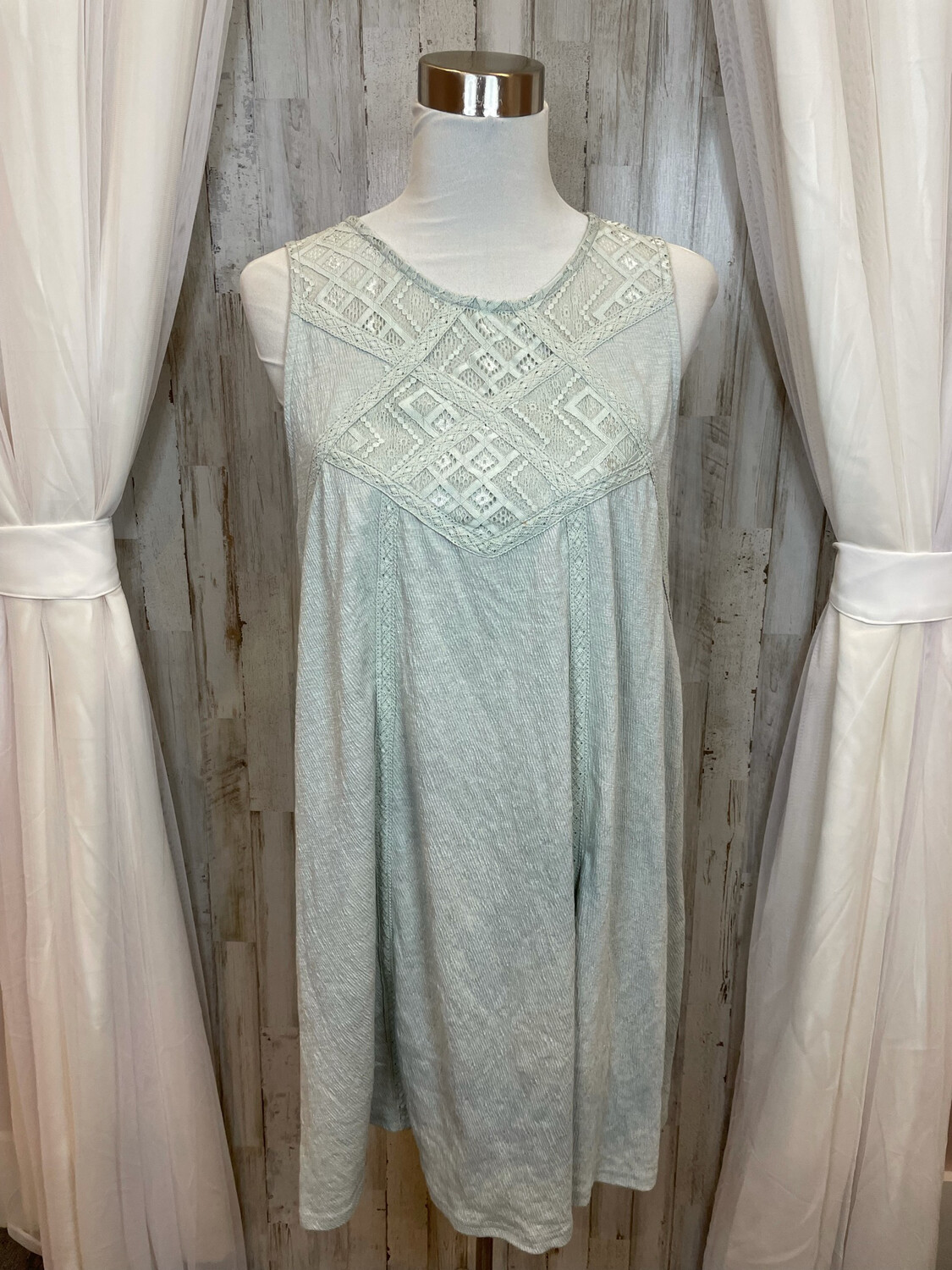 Before You Collection Mint Dress - M