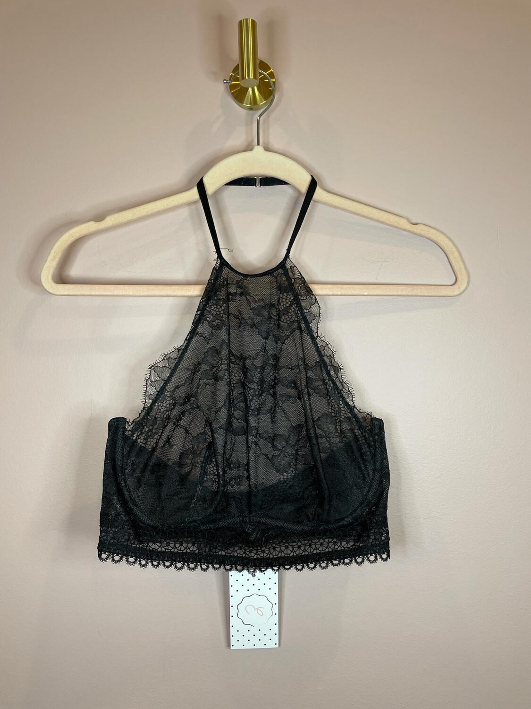 Victoria's Secret Black Lace Bra Tank