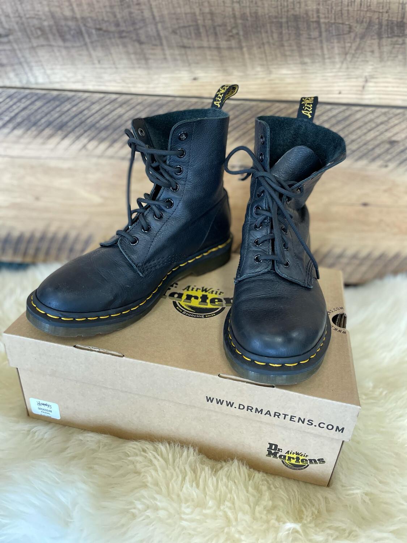 Dr. Martens Black Pascal Virginia Boots - Size 9