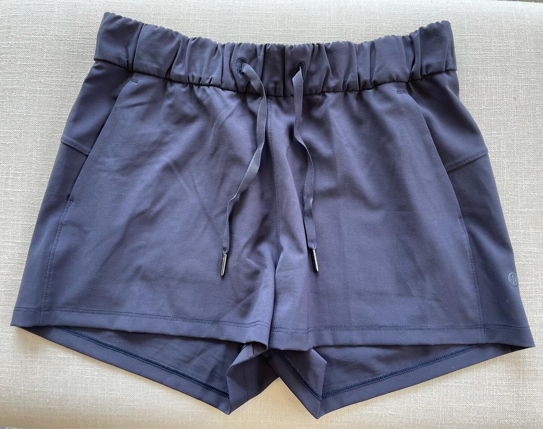 Lululemon Navy Shorts - Size 6