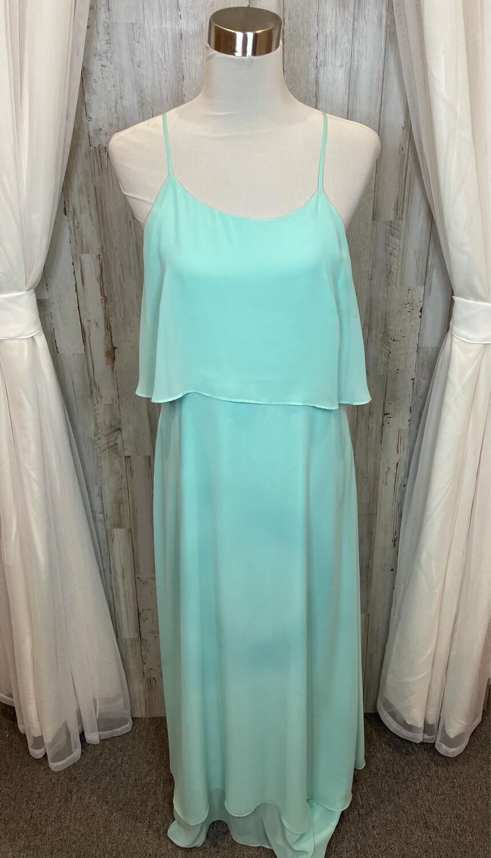 Gianni Bini Mint Layered Ruffle Dress - Size 12