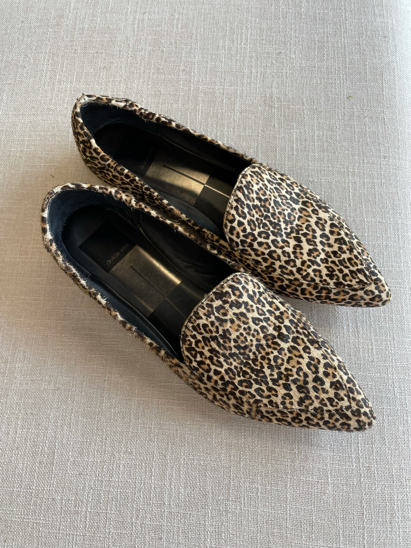 Dolce Vita Animal Print Loafers - Size 7.5