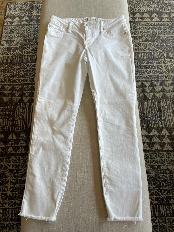 Lucky Brand White Lolita Crop Denim - Size 8/29