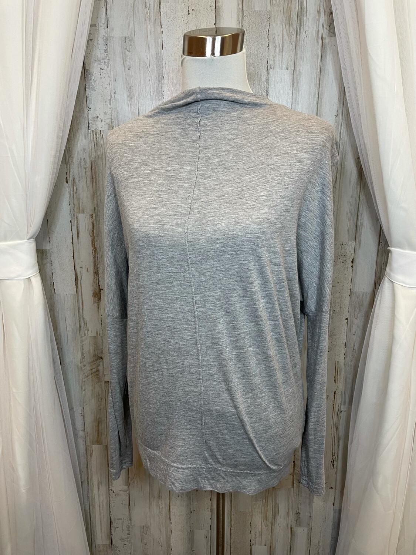 Michael Stars Grey Long Sleeve Top - OS
