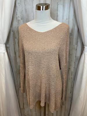 Miracle Blush Knit Sweater - S/M