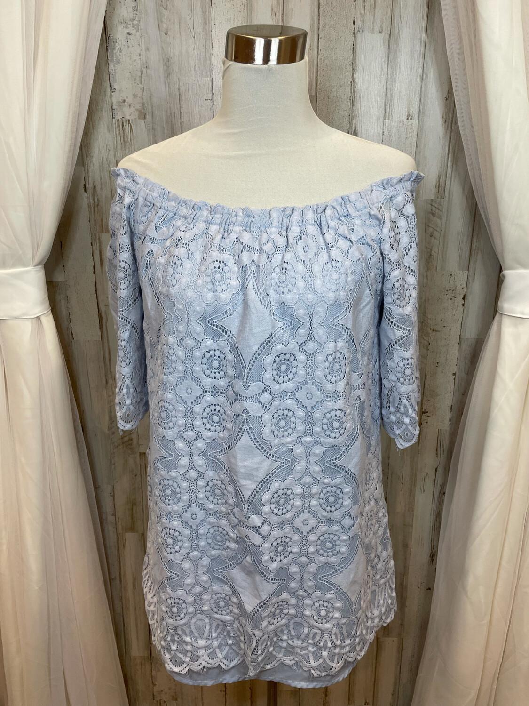 BB Dakota Lace Off the Shoulder Dress  - M