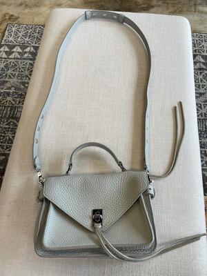 Rebecca Minkoff Taupe Shoulder Bag w/Handle