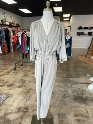 Young Fabulous & Broke Olive Jumpsuit w/Pockets - S