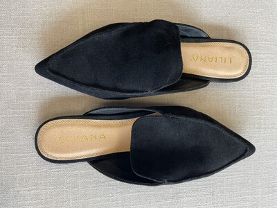 Liliana Back Suede Mule - Size 9