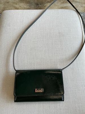 Kate Spade Hunter Green Patent Leather Crossbody