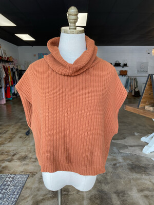 Tribe Burnt Orange Sweater - S