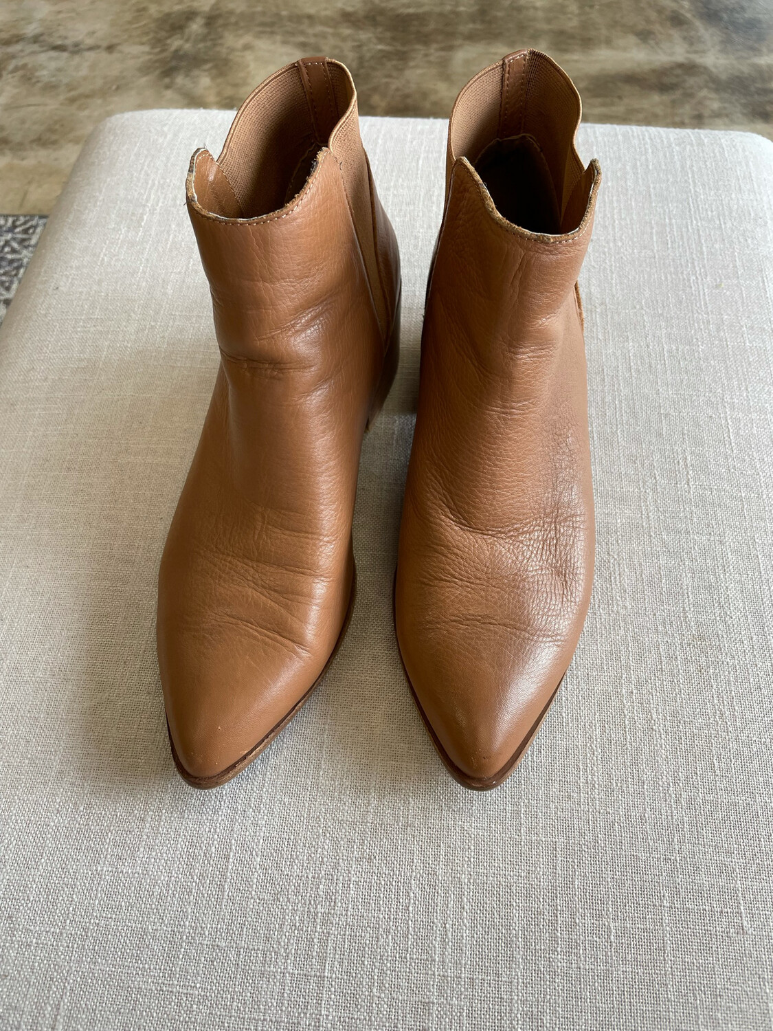 Chinese Laundry Brown Bootie - Size 8