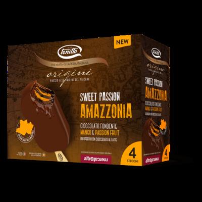 Origini  Stecco Cioccolato Fondente, Mango e Passion Friut