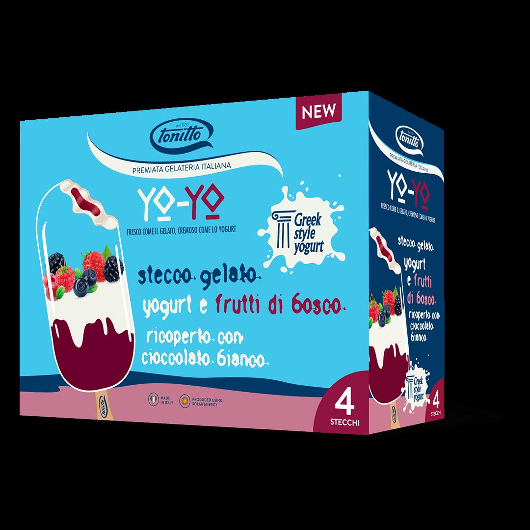 Yo-Yo Stecco Yogurt e Frutti di Bosco