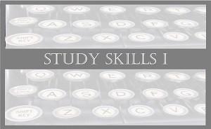 Study Skills 1: Typing