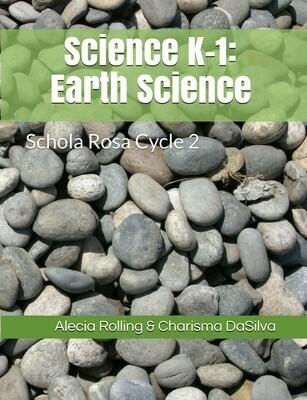 SR Science Workbook (K-1st): Earth Science, Cycle 2