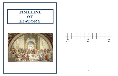 Memory Work ~ Timeline of History Book