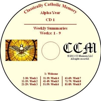 CCM Alpha Year Audio CD