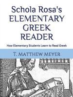 Elementary Greek Set (4th-6th)