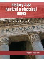 SR History Workbook (4th-6th), Cycle 1