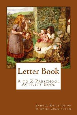 Letter Book (PreK) ~ Workbook