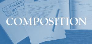 Composition Workshop Primer ~ Live Class