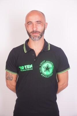 Light Revolution polo t-skjorte