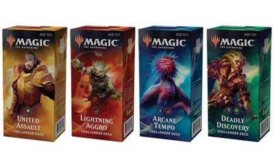 Challenger Deck 2019 (Set of All 4)