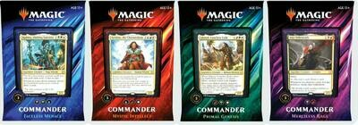2019 Commander Deck Complete Set (All 4 Decks)