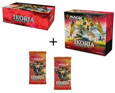 Ikoria Booster Box, Bundle & 2 Collector Packs Combo - BONUSPACK