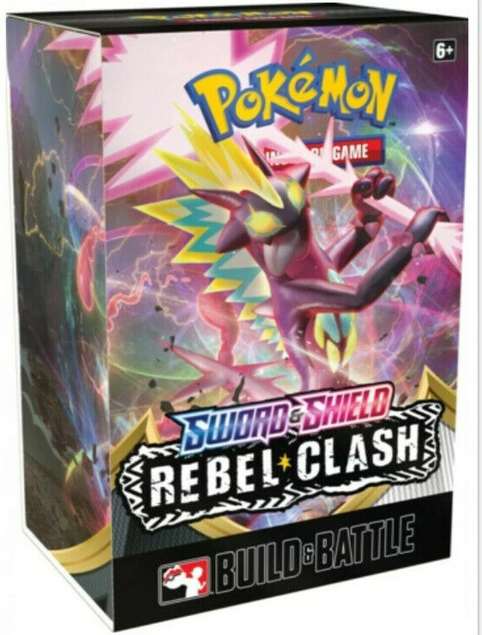 Pokemon Sword & Shield Rebel Clash Build & Battle Prerelease Kit