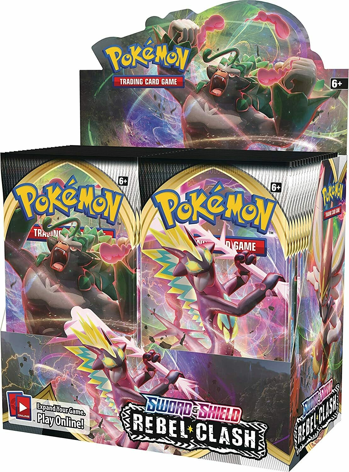 Pokemon Sword & Shield Rebel Clash Booster Box - BONUSPACK