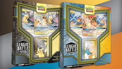 Pikachu & Zekrom-GX League Battle Deck