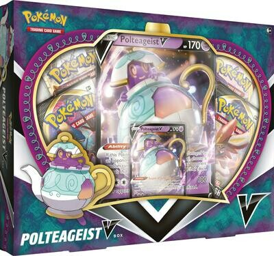 Pokemon Tcg Polteageist V Box
