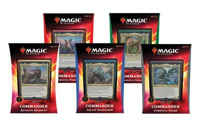 2020 Commander Deck Complete Set (All 5 Decks!)