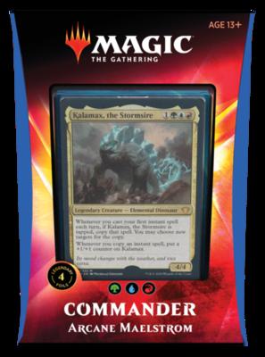 2020 Commander Deck - Arcane Maelstrom