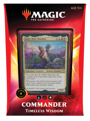 2020 Commander Deck - Timeless Wisdom