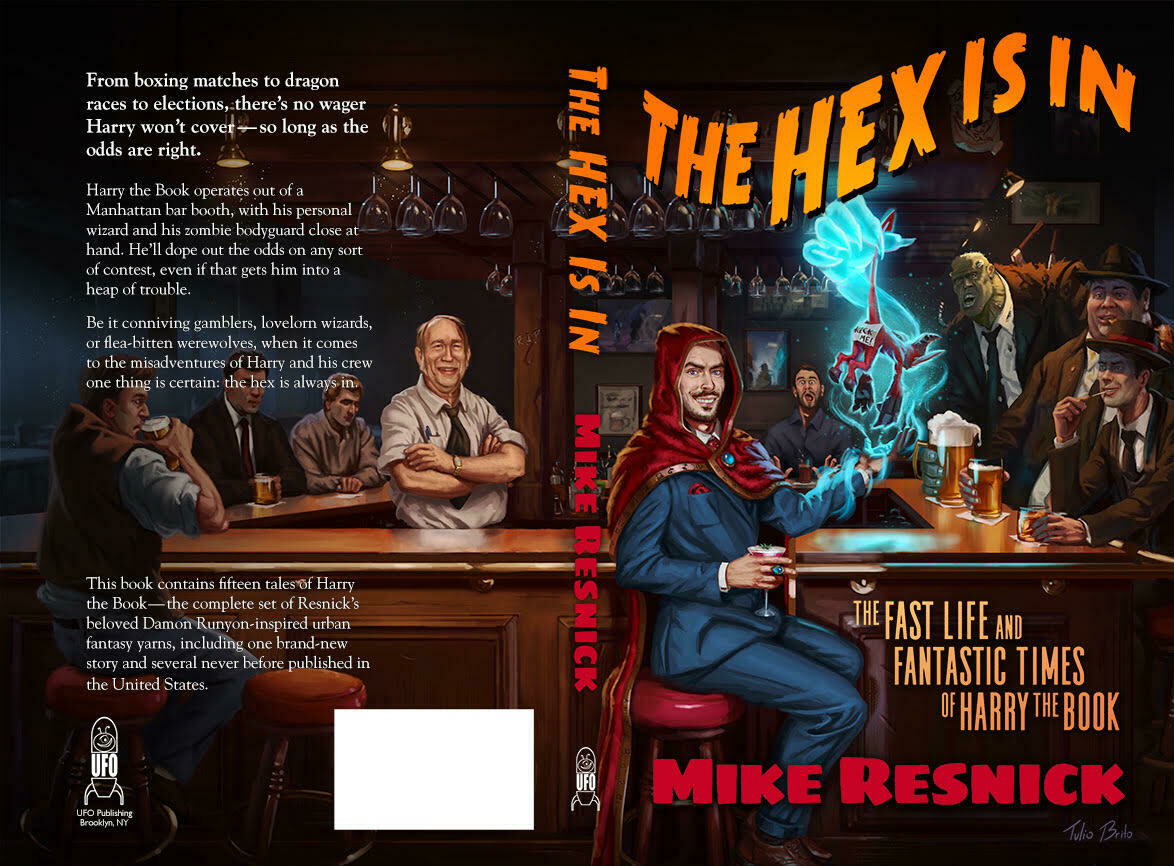 The Hex Is In by Mike Resnick - Paperback