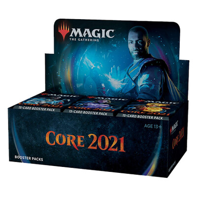 Core Set 2021 Booster Box + Bundle + 2x Collector Packs + 5 Planeswalker Decks - BONUSPACK