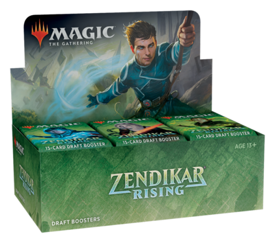 Zendikar Rising Draft Booster Box - BONUSPACK