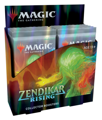 Zendikar Rising Collector Booster Box - BONUSPACK