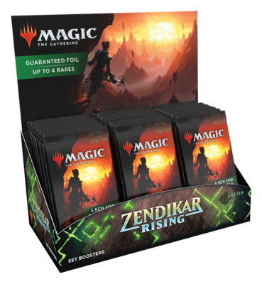 Zendikar Rising Set Booster Box - BONUSPACK