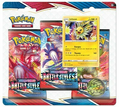 Battle Styles 3-Pack Blisters (Both Blisters)