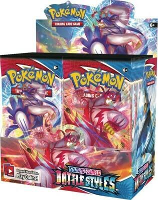 Battle Styles Booster Box - BONUSPACK